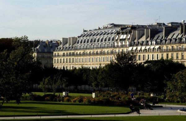 MEURICE Façade depuis Tuileries