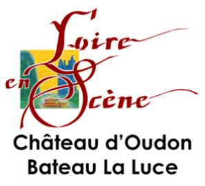 Logo château Oudon et bateau La Luce